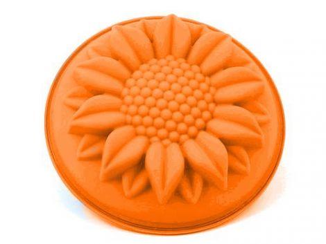 Silikonbackform Sonnenblume