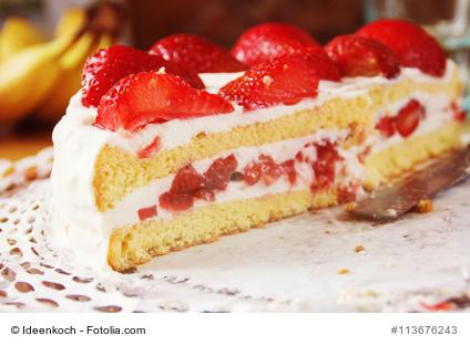 Erdbeer Quark Kuchen Die Pfanne Von Harecker De
