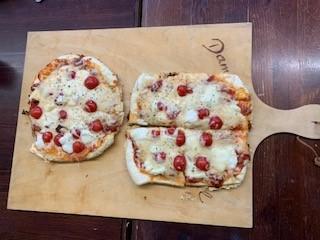 Pfannenpizza Zubereitung