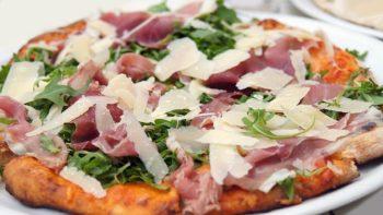knusprige Pfannenpizza